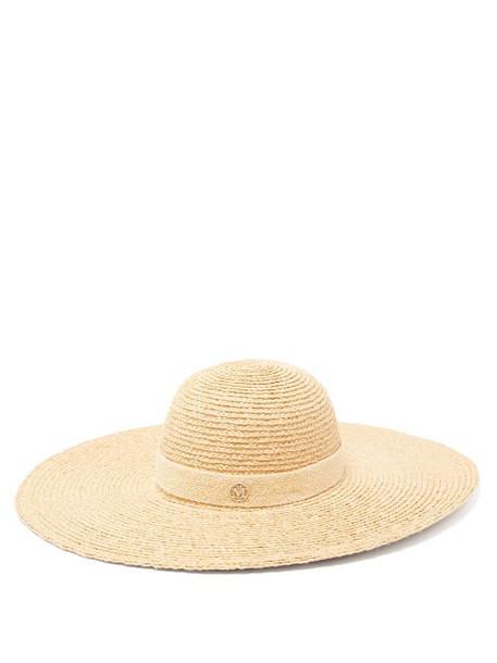 Maison Michel - Blanche 14 Raffia Hat - Womens - Beige