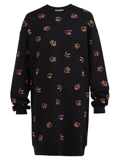 McQ Alexander McQueen Swallow Dress in black