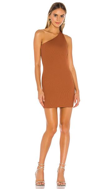 NBD Daxton Mini Dress in Tan