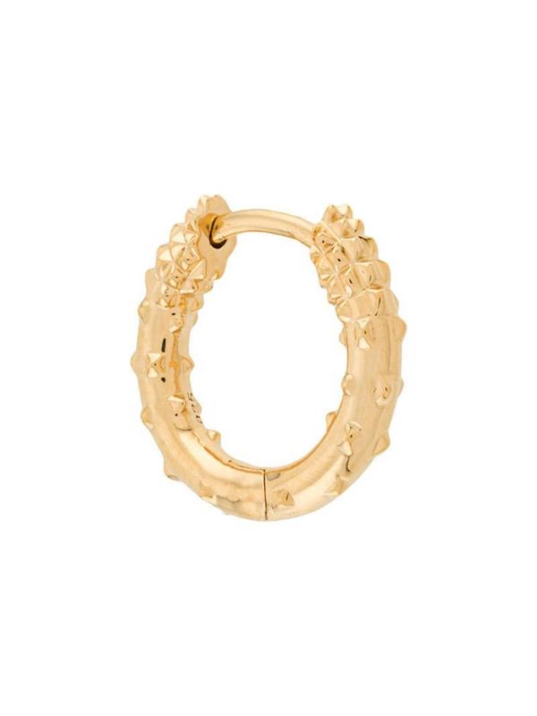 Kasun London mini hoop earring in gold