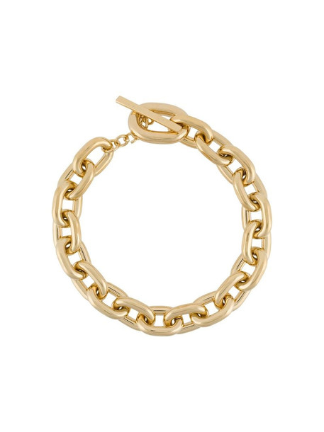 Paco Rabanne oversized chain necklace in gold