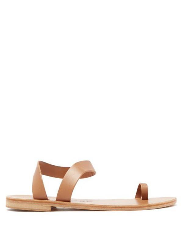 Álvaro Álvaro - Angela Leather Sandals - Womens - Tan