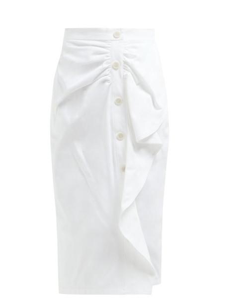 Max Mara - Edmond Skirt - Womens - White