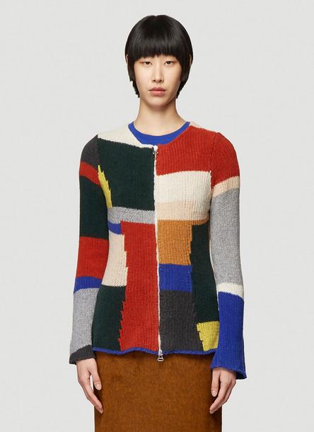 Eckhaus Latta Multicolour Knit Sweater in Black size S