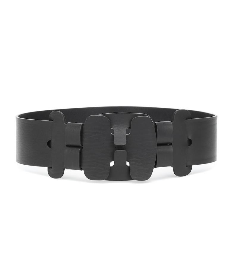 Gabriela Hearst Leather belt in black