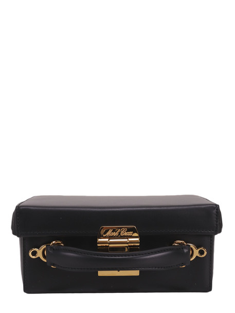 Mark Cross Black Grace Small Box Bag