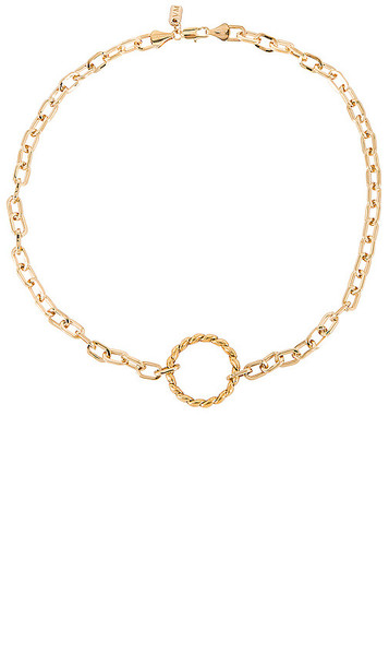 Vanessa Mooney The Sublime Necklace in Metallic Gold