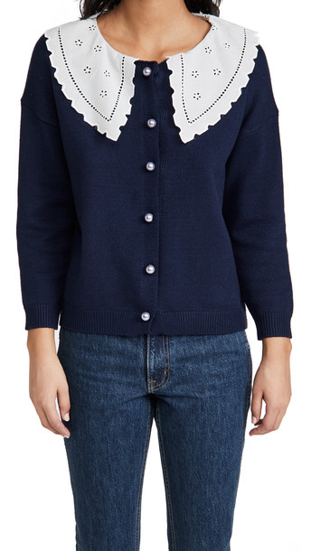 Olivia Rubin Courtney Cardigan in navy