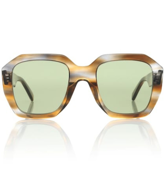 Celine Eyewear Oversized sunglasses in brown