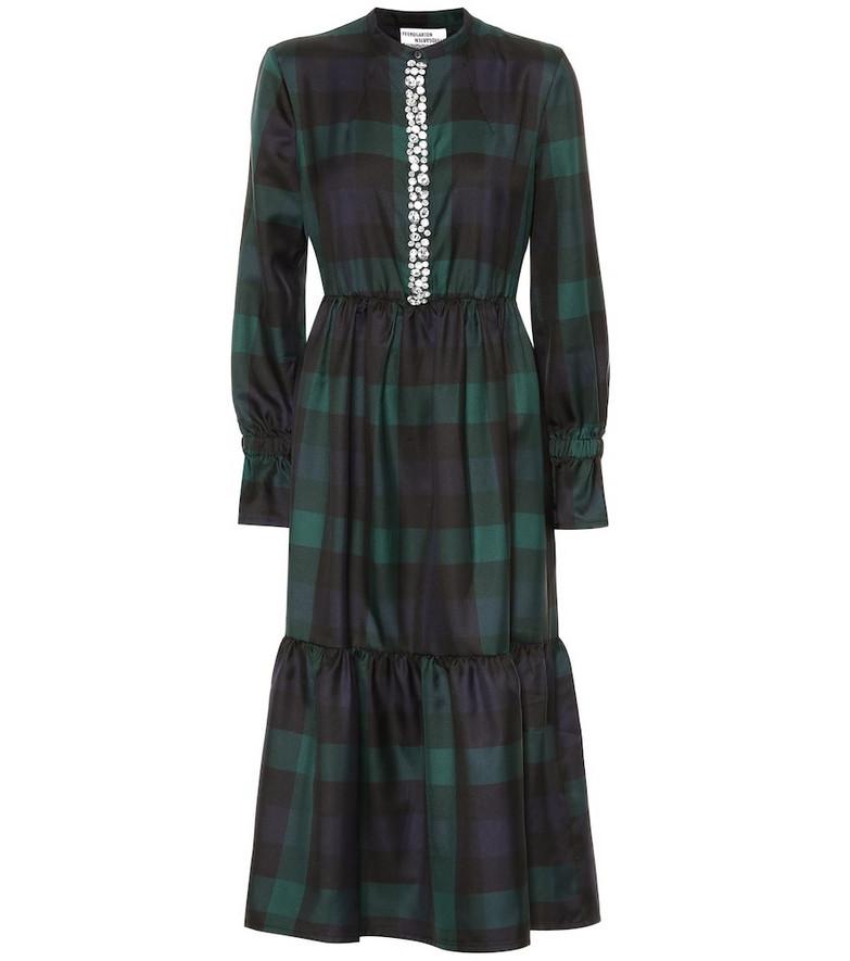 Baum und Pferdgarten Exclusive to Mytheresa – Embellished midi dress in green