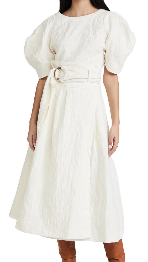 Mara Hoffman Esperanza Skirt in ivory