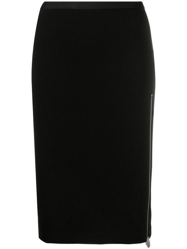 1017 ALYX 9SM side-zip midi skirt in black