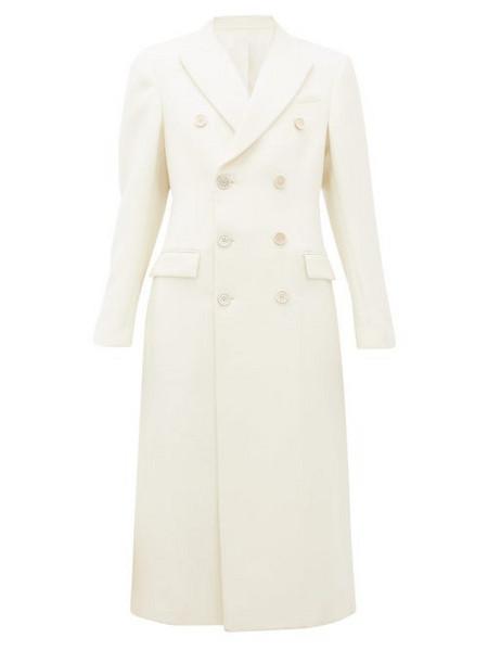 WARDROBE.NYC Wardrobe. nyc - Release 05 Double-breasted Merino-wool Coat - Womens - White
