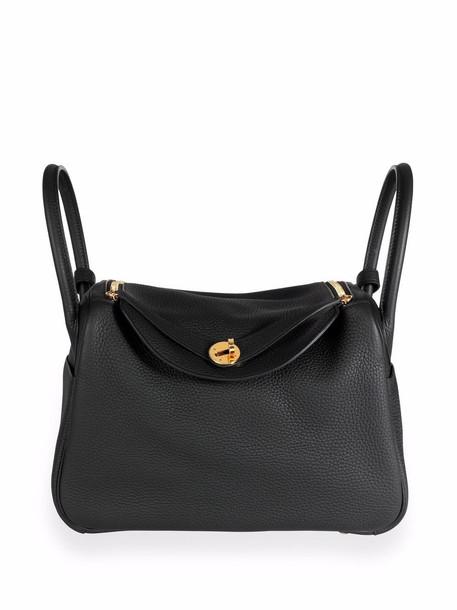 Hermès pre-owned Lindy 30 handbag - Black