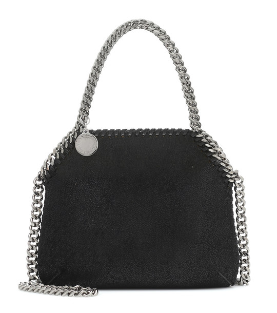 Stella McCartney Falabella Mini shoulder bag in black