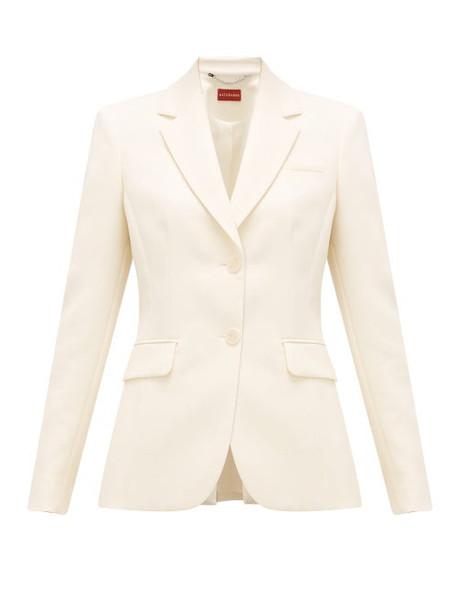 Altuzarra - Fenice Single-breasted Wool-blend Jacket - Womens - Beige