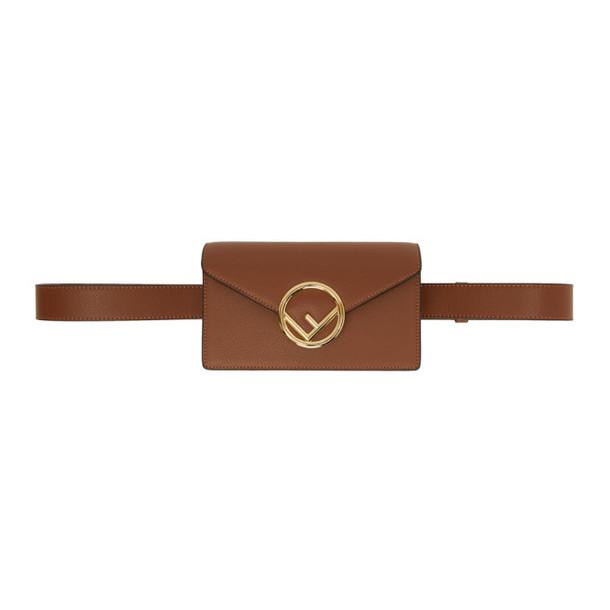 Fendi Brown F is Fendi Belt Bag