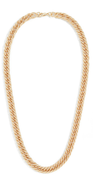 Loeffler Randall Twisty Chain Necklace in gold