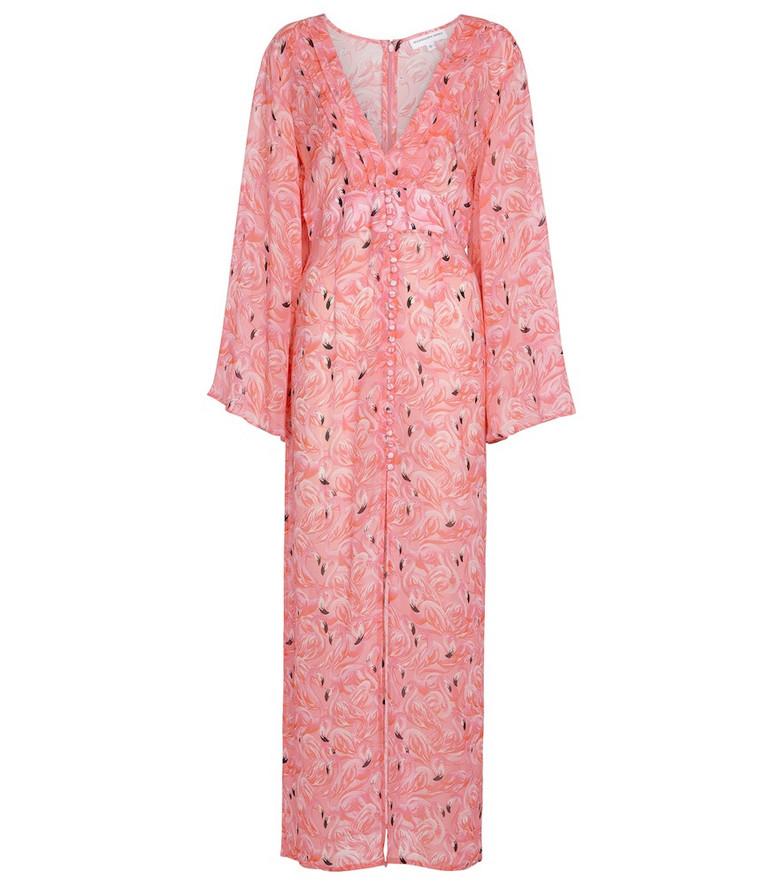 Alexandra Miro Exclusive to Mytheresa – Alexa printed maxi dress in pink