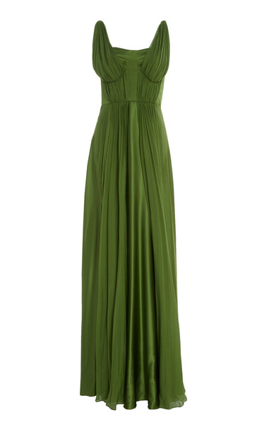 AMUR Adele Gown in green