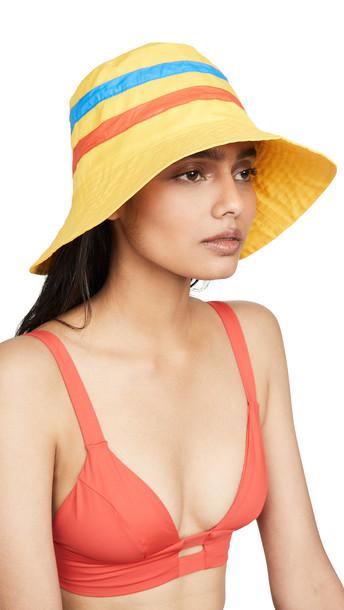 KULE The Mason Hat in yellow