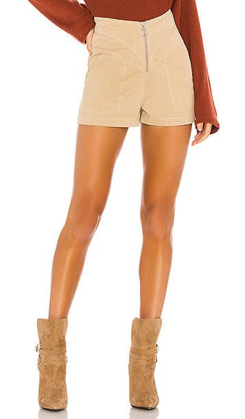 Tularosa Solana Short in Tan
