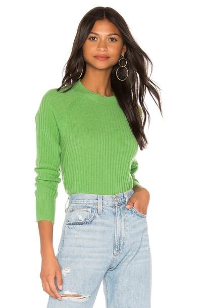 27 miles malibu Lacy Sweater in green