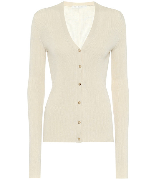 The Row Exclusive to Mytheresa – Linny silk cardigan in white