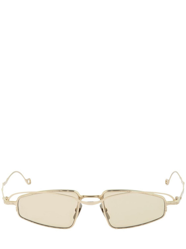 KUBORAUM BERLIN H73 Double Frame Metal Sunglasses in brown / gold