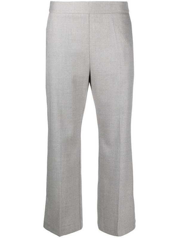Altea cropped tailored trousers in grey