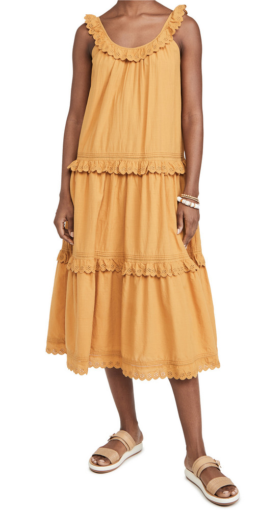 THE GREAT. THE GREAT. The Eyelet Magnolia Dress