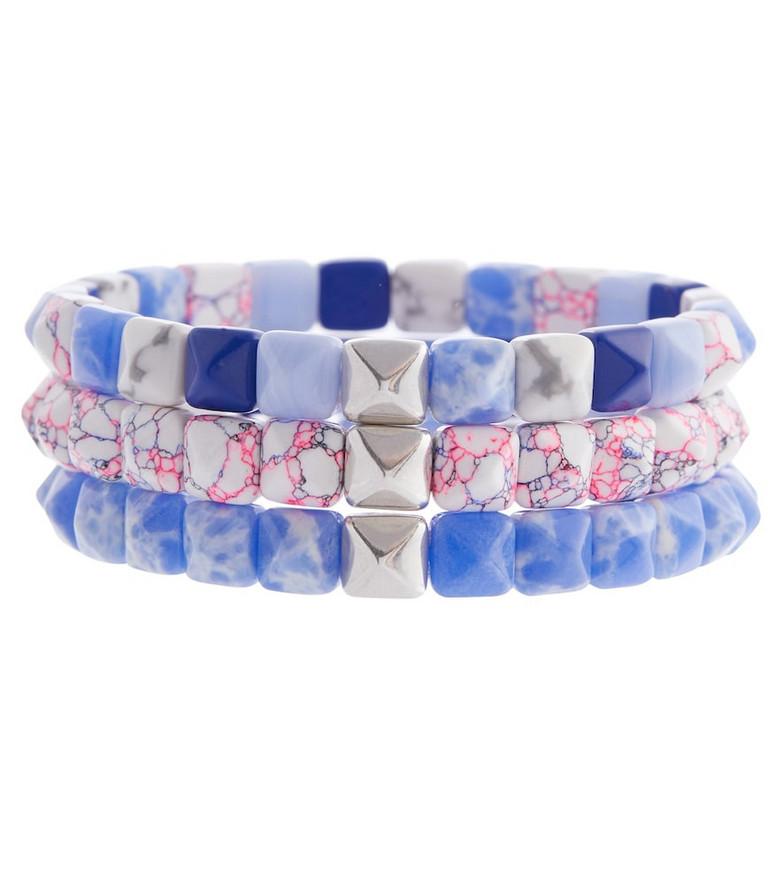 Isabel Marant Set of 3 bracelets in blue