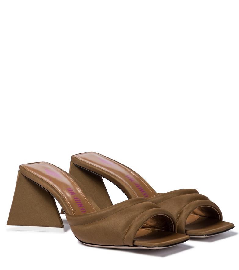 The Attico Devon sandals in brown