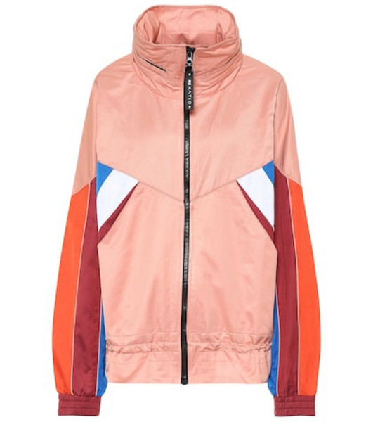 P.E Nation Sonic Boom cotton-blend jacket in pink