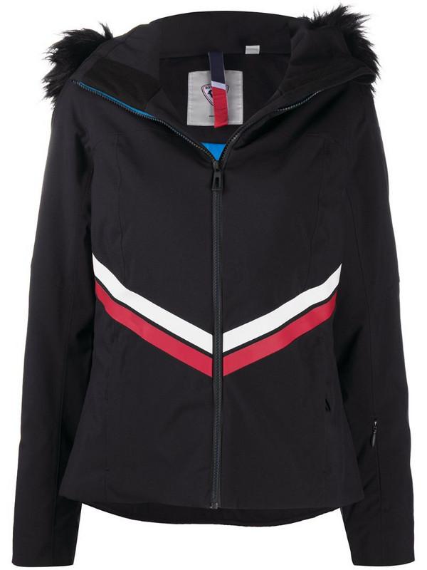 Rossignol Emblem stripe-detail ski jacket in black
