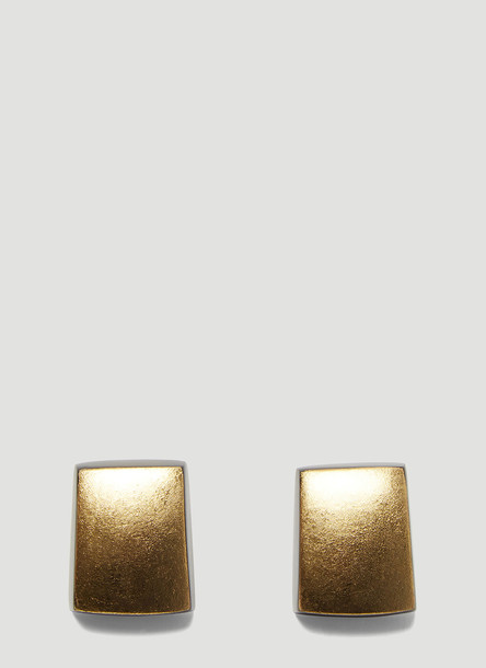 Monies Iris Clip On Earrings in Gold size One Size