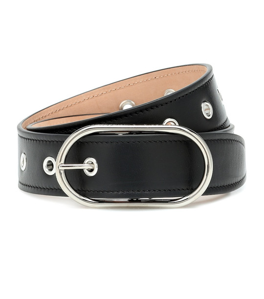 Acne Studios Leather belt in black
