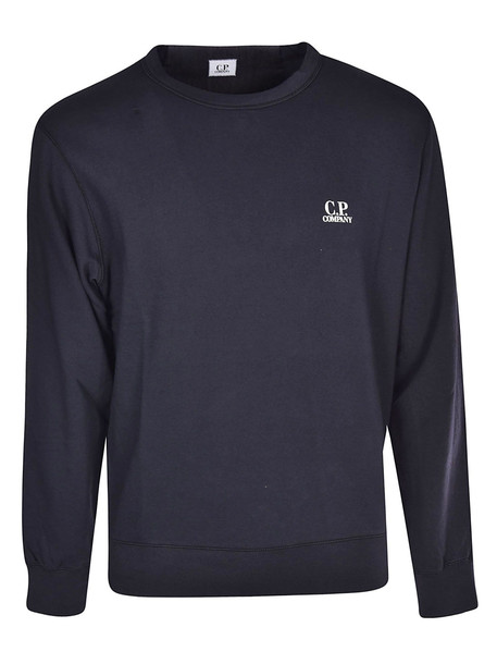 C.p. Company Logo Sweatshirt in navy