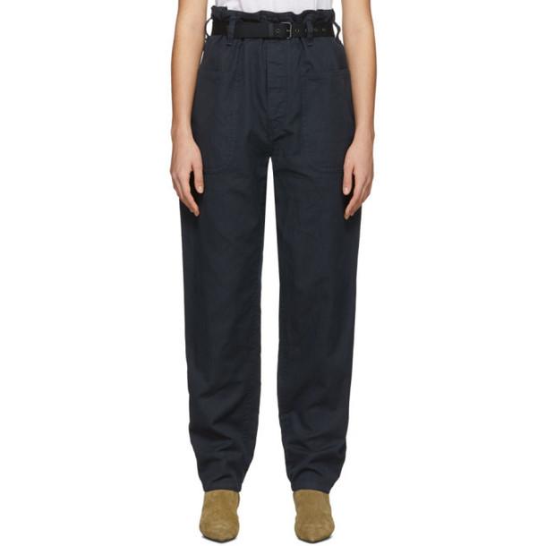 Isabel Marant Etoile Black Rinny Trousers