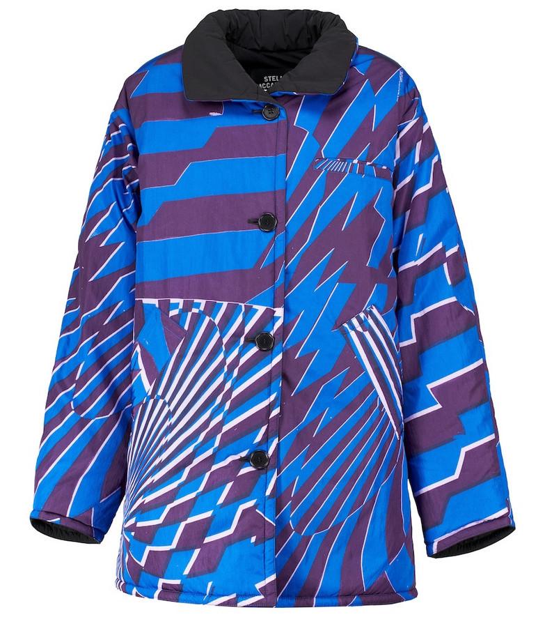 STELLA McCARTNEY x Ed Curtis Alex reversible coat