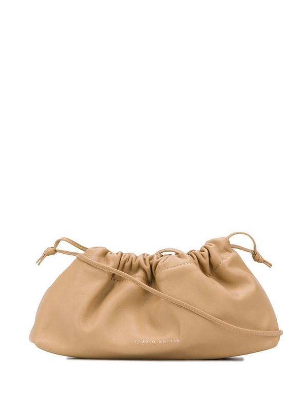 Studio Amelia mini drawstring bag in neutrals