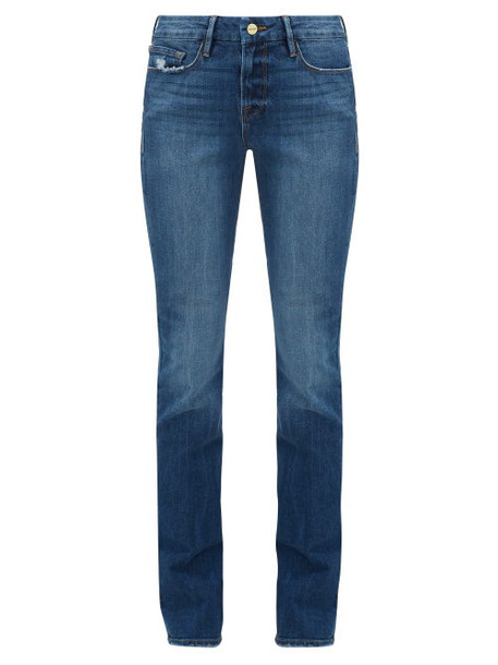 Frame - Le Mini Bootcut Jeans - Womens - Denim