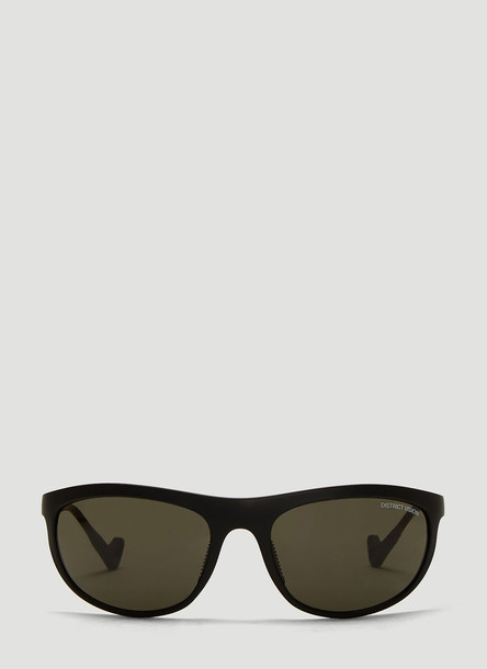 District Vision Takeyoshi Tinted Sunglasses in Black size One Size