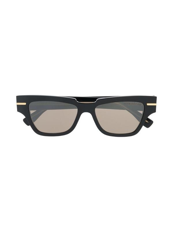 Cutler & Gross 1349-01 square-frame sunglasses in black