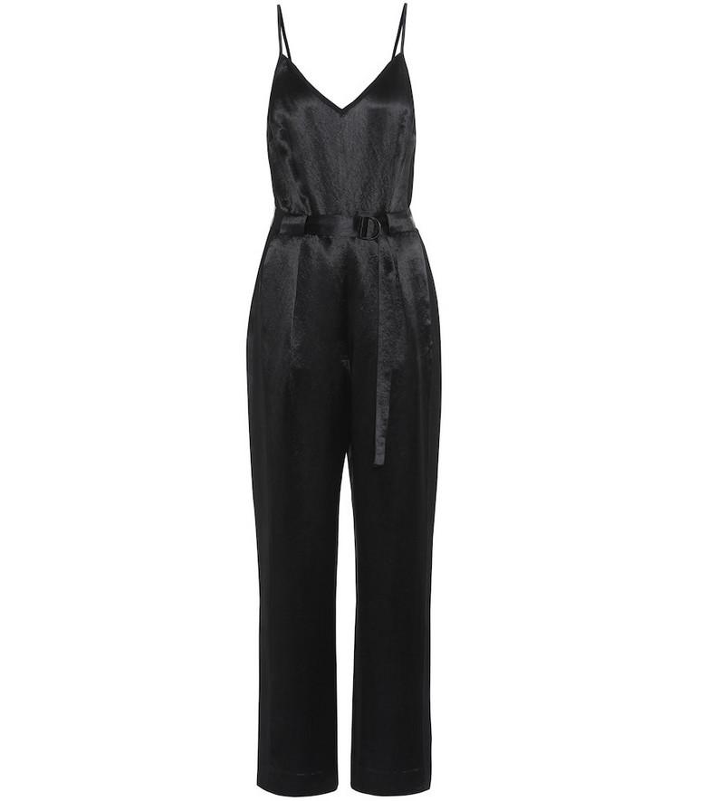 Rag & Bone Rochelle crêpe jumpsuit in black
