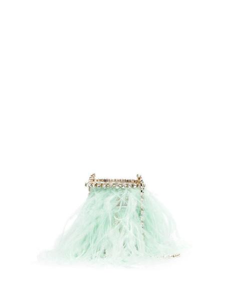 Rosantica Josephine open-top shoulder bag in green