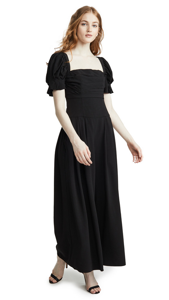 Fame and Partners The Gabrielle Jumpsuit in black