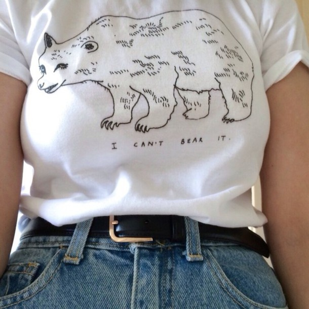 shirt cute quote on it t-shirt white