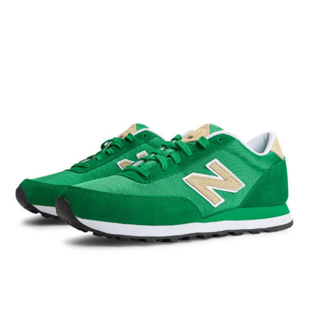 New Balance Backpack 501 Men's Heritage Shoes - Green, Tan, White (ML501BPE)
