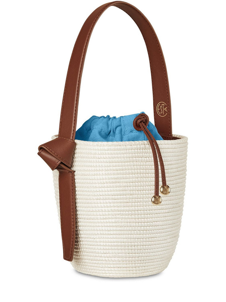 CESTA COLLECTIVE Lvr Exclusive Lunchpail Cotton Bag in blue / white